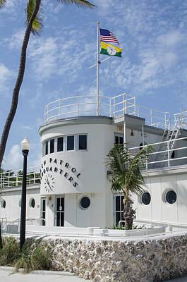 Architectural Art Photograph - Usa, Florida, Miami Beach by Charles Crust
