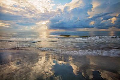 Usa, Georgia, Tybee Island, Sunrise Art Print
