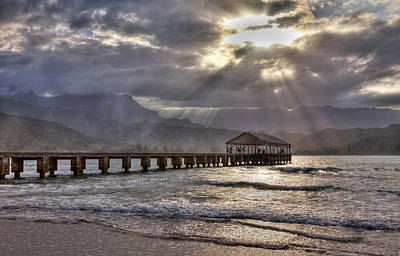 Hanalei Photograph - Usa, Hawaii, Maui, Hanalei, Hanalei by Terry Eggers