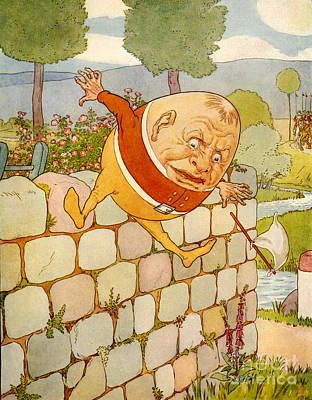 Usa Humpty Dumpty Book Plate Print by The Advertising Archives