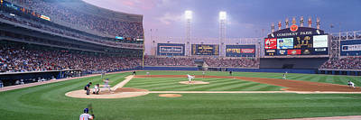 Bleachers Photograph - Usa, Illinois, Chicago, White Sox by Panoramic Images