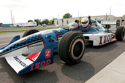 Indy Cars Photograph - Usa, Indiana, Indianapolis Motor by Lee Foster