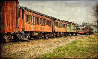 Large Format Photograph - Usa, Indiana The North Mudson Railroad by Rona Schwarz