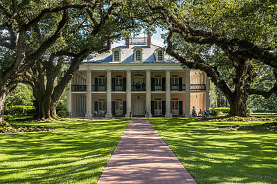 Usa, Louisiana, Oak Alley Plantation Art Print