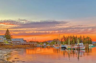 Usa, Maine, Acadia, Bass Harbor Art Print by Jaynes Gallery