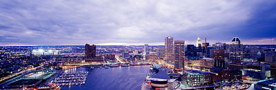 Usa, Maryland, Baltimore, Cityscape Print by Panoramic Images