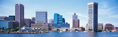 Usa, Maryland, Baltimore, Skyscrapers Print by Panoramic Images