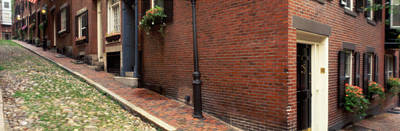 Boston Ma Photograph - Usa, Massachusetts, Boston, Beacon Hill by Panoramic Images