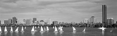 Charles River Photograph - Usa, Massachusetts, Boston, Charles by Panoramic Images