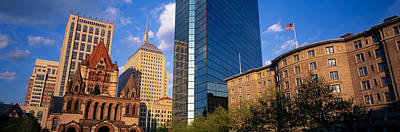 Boston Ma Photograph - Usa, Massachusetts, Boston, Copley by Panoramic Images