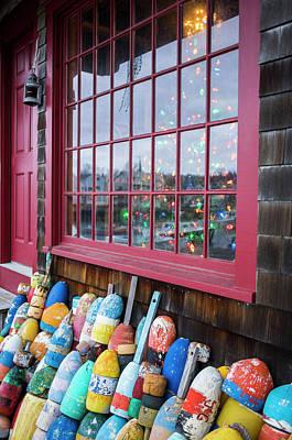 Rockport Photograph - Usa, Massachusetts, Cape Ann, Rockport by Walter Bibikow