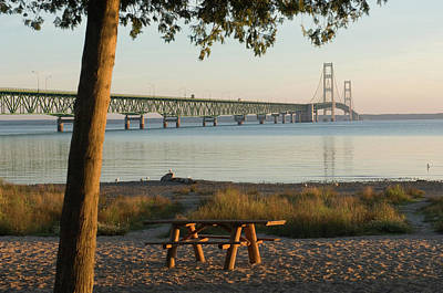 Usa, Michigan, Mackinaw City, Mackinac Art Print