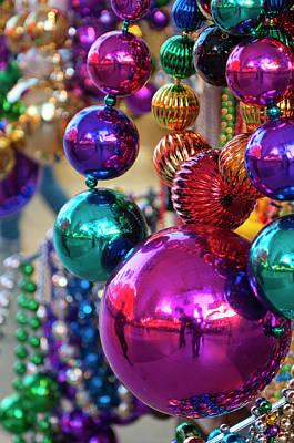 Usa, Nevada Christmas Decorations Art Print