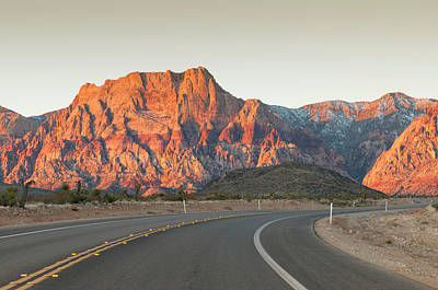 El Paso Photograph - Usa, Nevada Red Rock Canyon Outside Las by Michael Defreitas