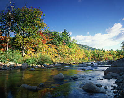 White Mountain National Forest Photograph - Usa, New England, New Hampshire, White by Adam Jones