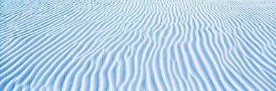 Undulating Photograph - Usa, New Mexico, White Sands, Dunes by Panoramic Images