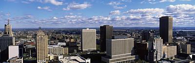 Buffalo Ny Photograph - Usa, New York, Buffalo by Panoramic Images