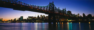 Usa, New York City, 59th Street Bridge Art Print by Panoramic Images