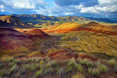 Carter Photograph - Usa, Oregon Landscape Of The Painted by Jaynes Gallery