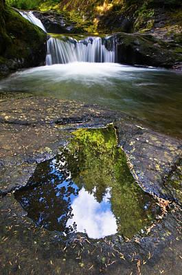 Usa, Oregon, Sweet Creek Art Print by Jaynes Gallery