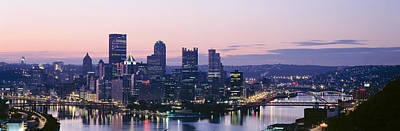 Downtown Pittsburgh Photograph - Usa, Pennsylvania, Pittsburgh by Panoramic Images