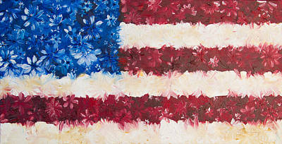 Usa Proud Art Print