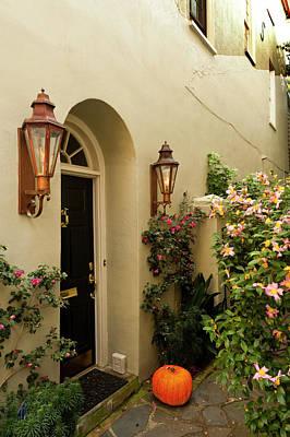 Charleston Door Photograph - Usa, South Carolina, Charleston by Richard Duval