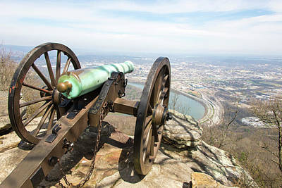 Point Park Photograph - Usa, Tn, Chattanooga by Trish Drury