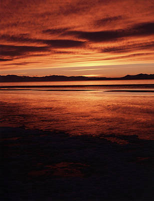 Usa, Utah, Antelope Island, Stansbury Art Print by Scott T. Smith