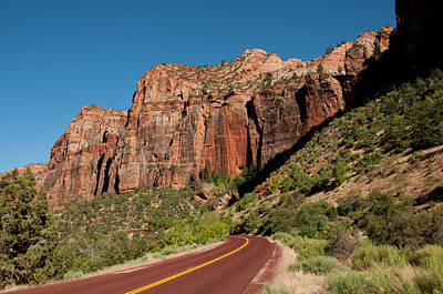 Zion National Park Photograph - Usa Utah, Great Arch Of Zion In Zion by Lee Foster