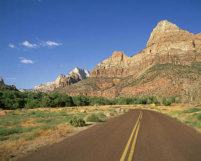 Usa, Utah, Zion National Park � Angelo Art Print by Tips Images
