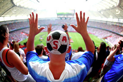 Photograph - Usa V Japan Final - Fifa Womens World by Jeff Vinnick