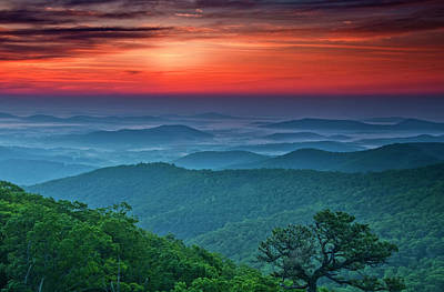 Franklin Photograph - Usa, Virginia, Franklin Cliff Overlook by Jaynes Gallery