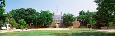 Williamsburg Photograph - Usa, Virginia, Williamsburg, Governors by Panoramic Images