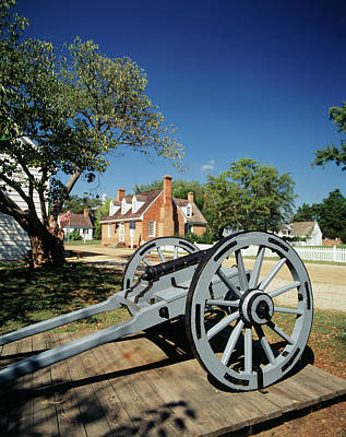 Usa, Virginia, Yorktown, Cannon Art Print