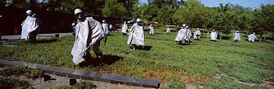Korean War Memorial Photograph - Usa, Washington Dc, Korean War by Panoramic Images
