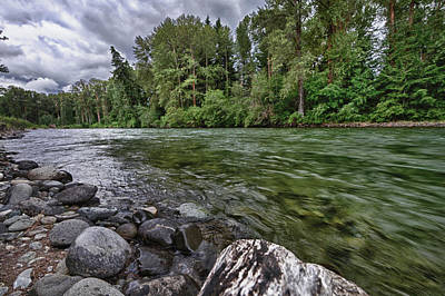 Midday Photograph - Usa, Washington, Snoqualmie National by Christopher Reed