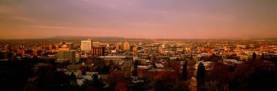 Usa, Washington, Spokane, Cliff Park Art Print by Panoramic Images