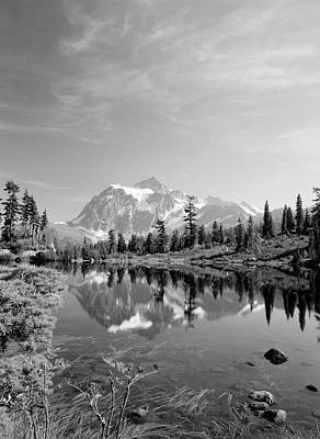 Usa, Washington State, Mount Baker Art Print