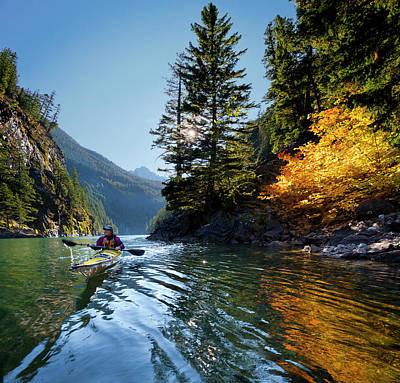 Gary Photograph - Usa, Washington State, North Cascades by Gary Luhm