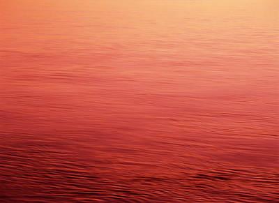 Usa, Washington State, View Of Sunset Art Print by Stuart Westmorland