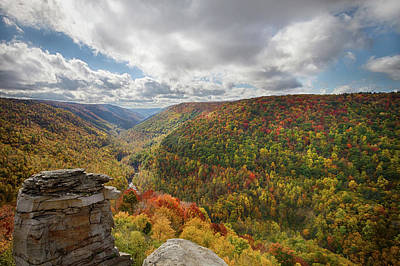 Blackwater Canyon Photograph - Usa, West Virginia by Christopher Reed