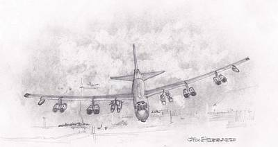Usaf B-52 Stratofortress Art Print