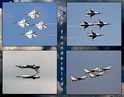 Usaf Thunderbirds Art Print