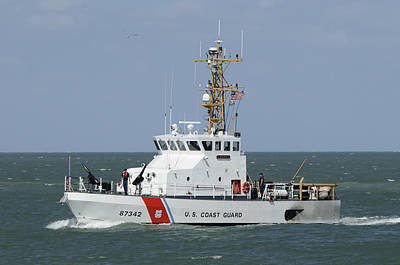 Photograph - Uscg Cutter Shrike by Bradford Martin
