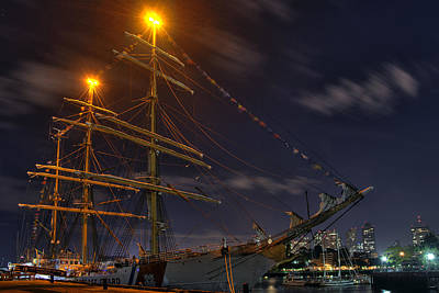 Photograph - Uscg Eagle Cutter - Boston  by Joann Vitali
