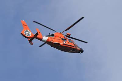 Photograph - Uscg Eurocopter Hh-65 Dolphin  by Bradford Martin