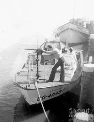 Photograph - Uscg Rescue Boat 1959 by John Potts