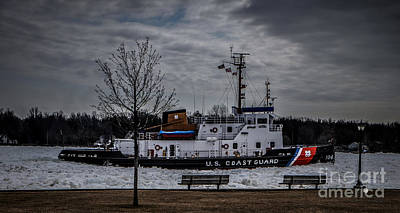 Photograph - Uscgc Biscayne Bay by Ronald Grogan