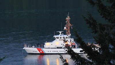 Photograph - Uscgc Blue Shark by E Faithe Lester